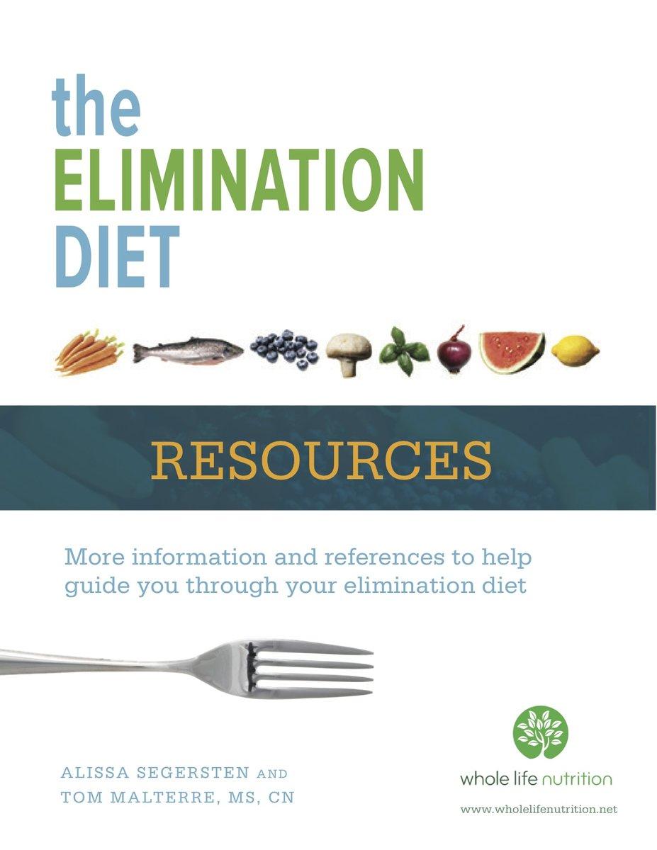 Elimination Diet Resources | Whole Life Nutrition®