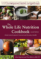 The Whole Life Nutrition Cookbook Cover
